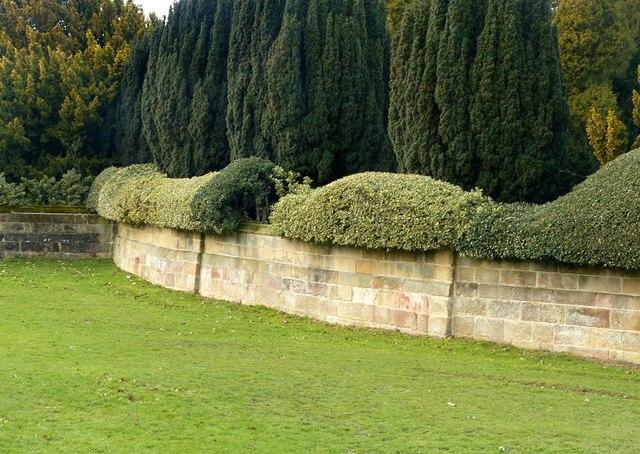 Walls near the Golden Gates