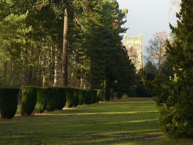 Church Avenue, Elvaston Castle