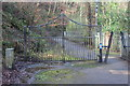 SO2004 : Centenary Gates, Abertillery Park by M J Roscoe