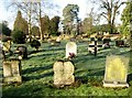 TG2708 : The eastern section of Thorpe cemetery by Evelyn Simak