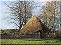 SJ9888 : Mellor Roundhouse by Stephen Burton