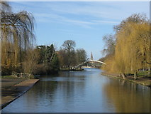 TL0549 : The River Ouse at Bedford by M J Richardson
