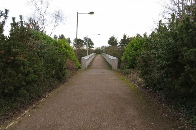 Footbridge over Portway