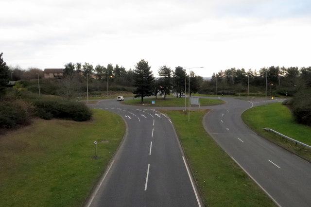 North Skeldon roundabout