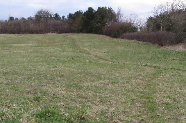 Path towards Downs Barn
