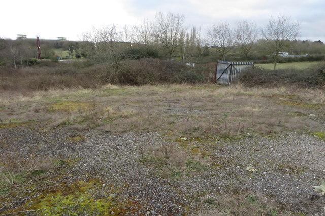 Derelict yard by Skeldon Gate