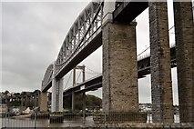 SX4358 : Tamar Bridges by N Chadwick