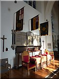 TQ2160 : St Martin of Tours Epsom: war memorial by Basher Eyre