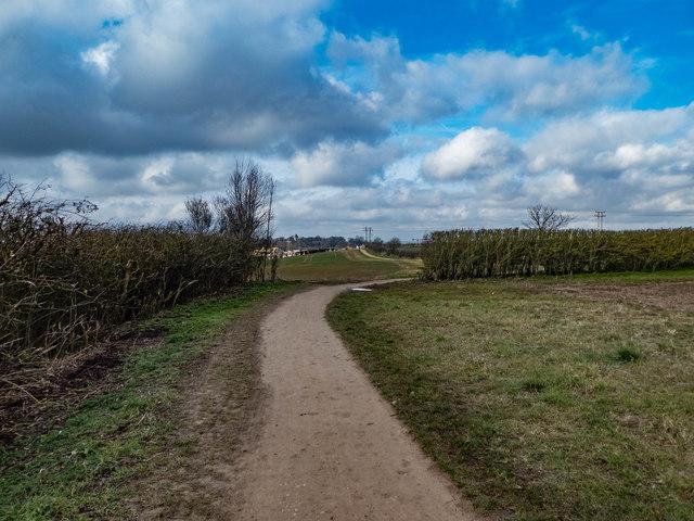 Track near Letchworth