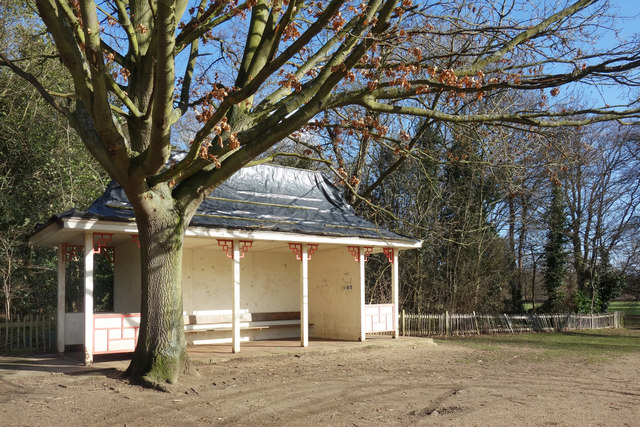 Shelter in Marble Hill Park