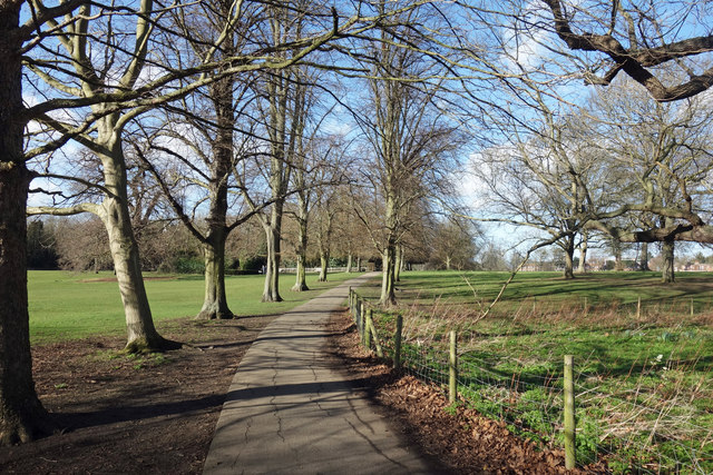 Path in Marble Hill Park
