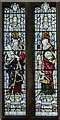 SK9771 : Window s.I, St Mary Magdalene church, Lincoln by Julian P Guffogg