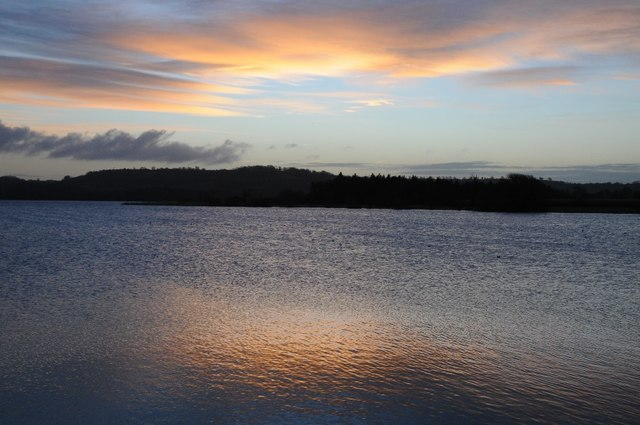 Dawn over Chew Valley Lake