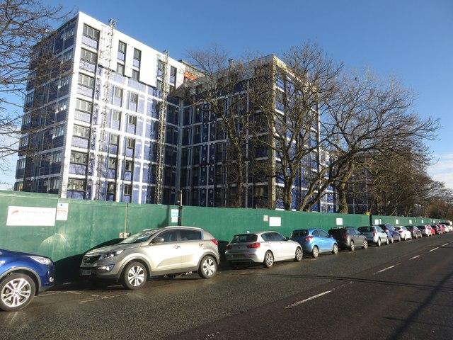 New student accommodation, Richardson Road, Newcastle upon Tyne
