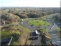 TQ2741 : Roundabout at Gatwick Airport by Malc McDonald