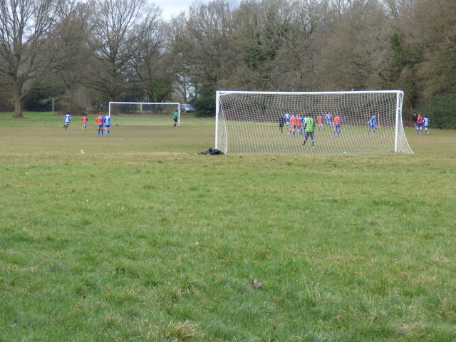 Football on Coulsdon Common