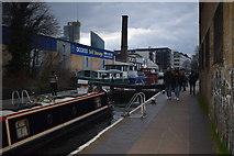 TQ3283 : Sturt's Lock, Regent's Canal by Trevor Harris