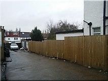 TQ2087 : Alleyway off Church Lane, Kingsbury by David Howard