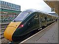 ST3088 : British Rail Class 800 Intercity Express, Newport Station by Robin Drayton