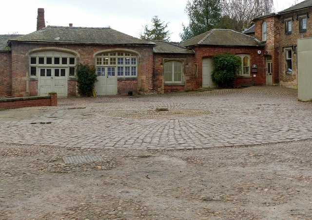 Coach and stable yard, Elvaston Castle