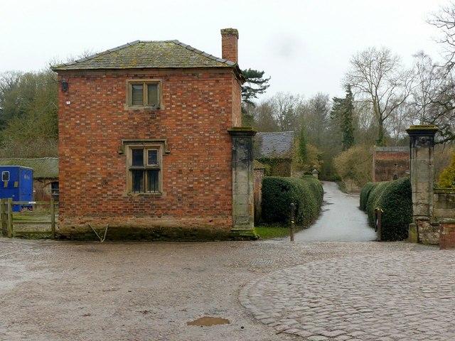 Stable yard entrance, Elvaston Castle
