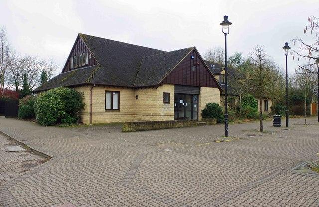The former Deer Park Medical Centre, 6 Edington Square, Witney, Oxon