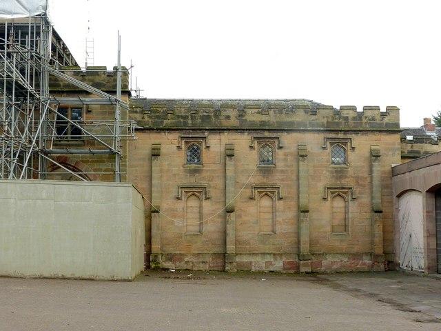 Coach house and stables, Elvaston Castle