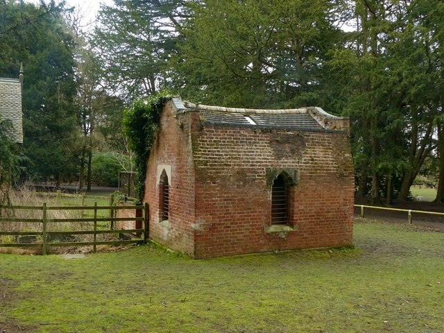 Pump house, Elvaston Castle