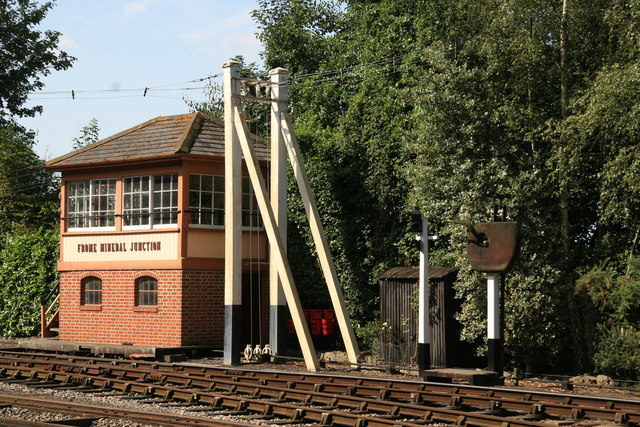 Signal box, Didcot Railway Centre
