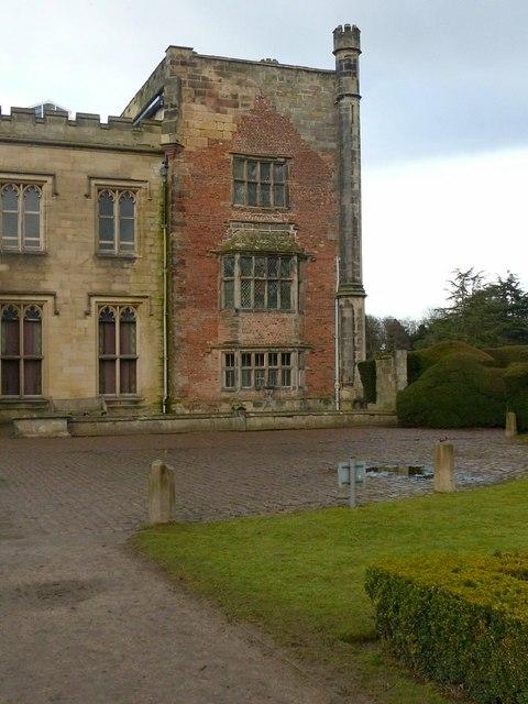 Elvaston Castle, the Jacobean wing