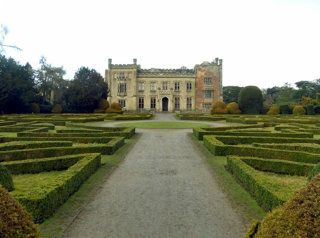The Parterre Garden, Elvaston Castle