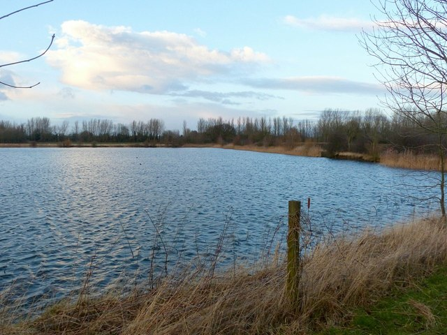 Former gravel pit near Ambaston