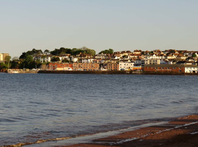 Looking across to Paignton Harbour