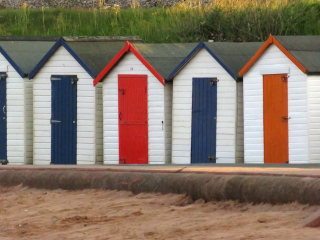 Beach huts at Goodrington Sands