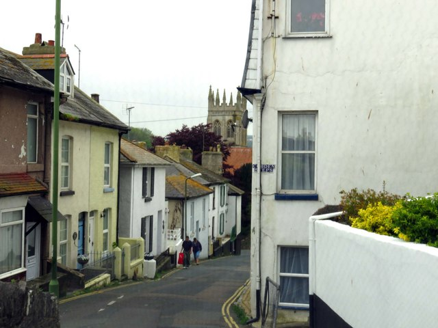 Station Hill in Brixham