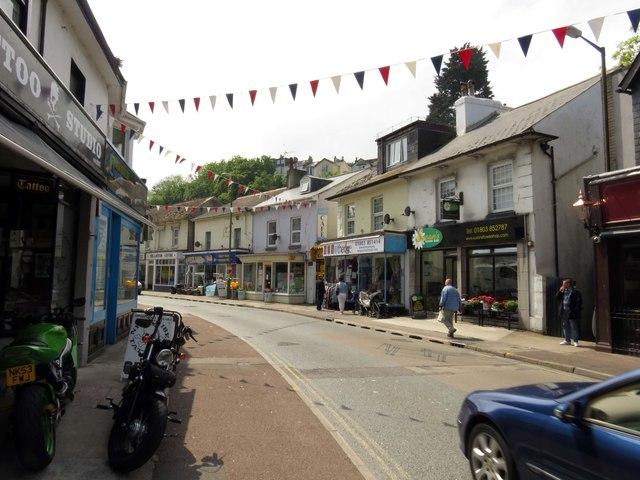 Bolton Street in Brixham