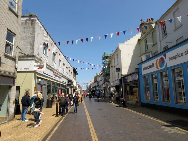 Fore Street in Brixham