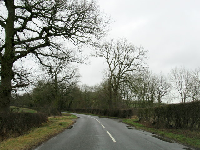 Langley Road near Bearley Cross