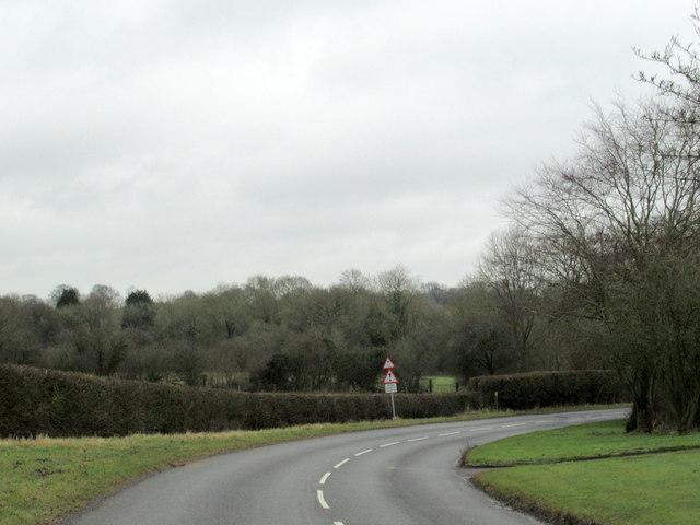 Langley Road Near Railway Bridge