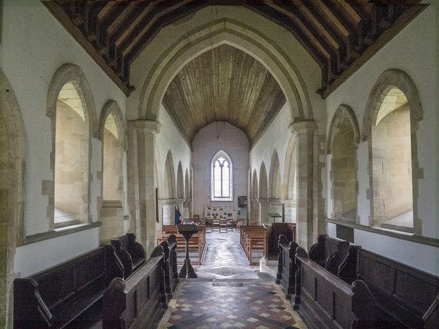 St Michael, Longstanton - West end