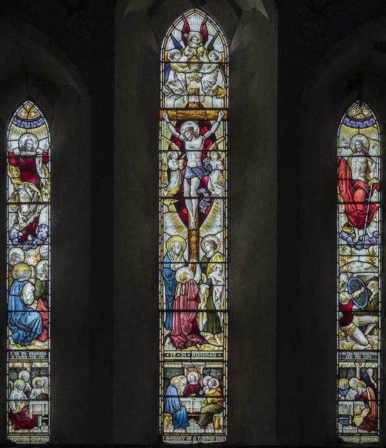 St Michael, Longstanton - Stained glass window
