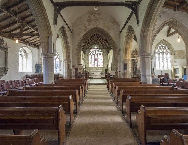 All Saints, Longstanton - East end