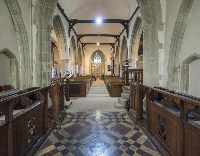 All Saints, Longstanton - West end