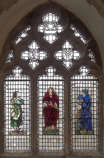 All Saints, Longstanton - Stained glass window
