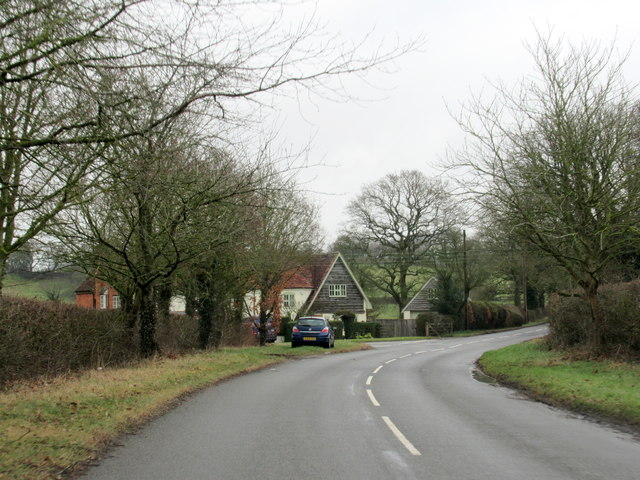 Langley Green Approaching Ford Lane
