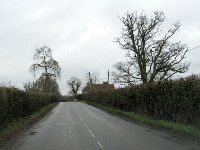 Warwick Road Near Littleworth Farm