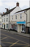 ST5393 : Hallux Podiatry in Chepstow town centre by Jaggery