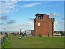 TF6742 : Former coastguard lookout, Hunstanton by Robin Webster