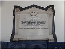 TQ2160 : St Martin of Tours Epsom: memorial (1) by Basher Eyre