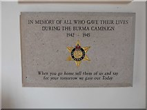 TQ2160 : St Martin of Tours Epsom: memorial (5) by Basher Eyre